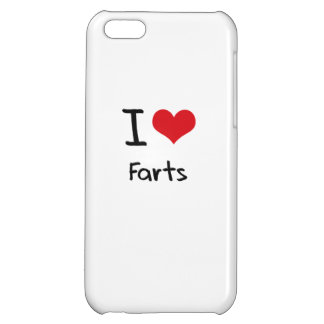 I Love Farts Cover For iPhone 5C