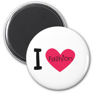I love fashion magnet