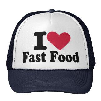 I love fast food mesh hats