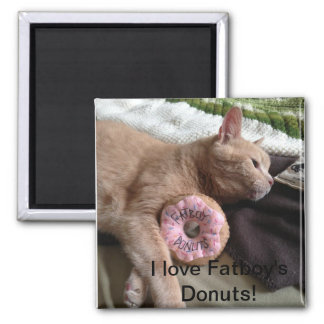 I Love Fatboy's Donuts Magnet