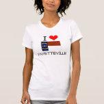 I Love Fayetteville North Carolina Tshirts