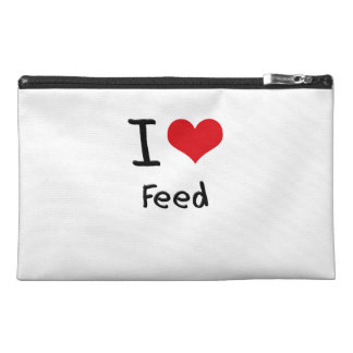 I Love Feed Travel Accessories Bag