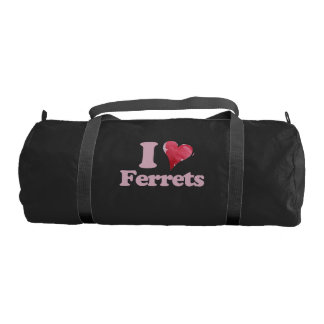 I love Ferrets Gym Bag