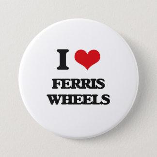 I love Ferris Wheels 3 Inch Round Button