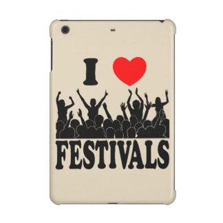 I Love festivals (blk) iPad Mini Retina Case