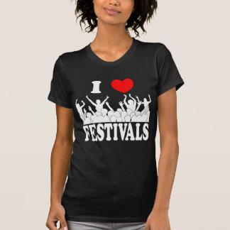 I Love festivals (wht) T-Shirt