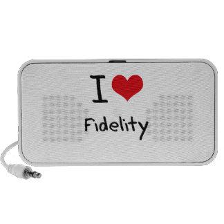 I Love Fidelity Travelling Speakers