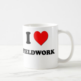 I Love Fieldwork Coffee Mug