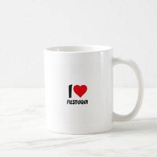 I love fiestuqui coffee mug