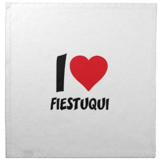 I love fiestuqui napkin