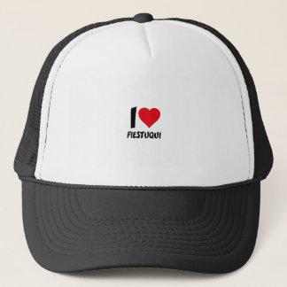 I love fiestuqui trucker hat
