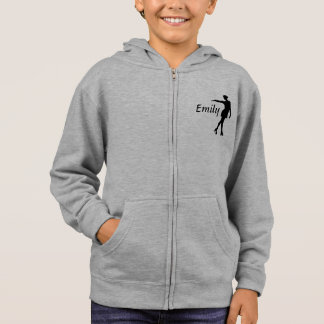 I love figure skating, personalized hooded shirt