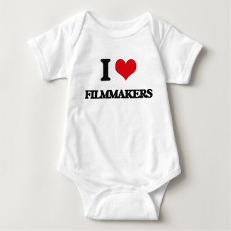 I love Filmmakers Baby Bodysuit