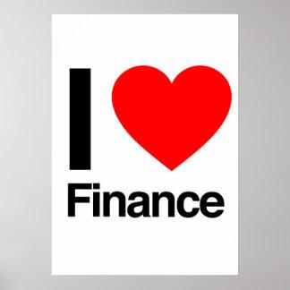 i love finance print