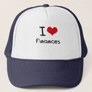 I Love Finances Trucker Hat