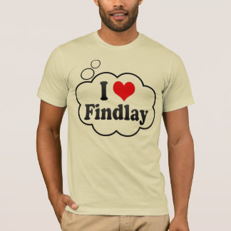 I Love Findlay, United States T-Shirt