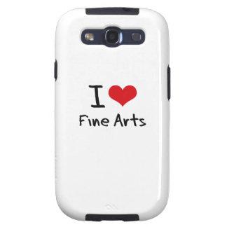 I Love Fine Arts Samsung Galaxy S3 Covers