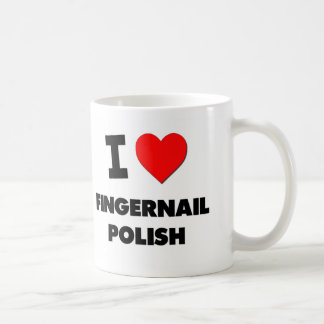 I Love Fingernail Polish Mugs