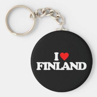 I LOVE FINLAND KEYCHAIN