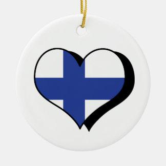 I Love Finland Ornament