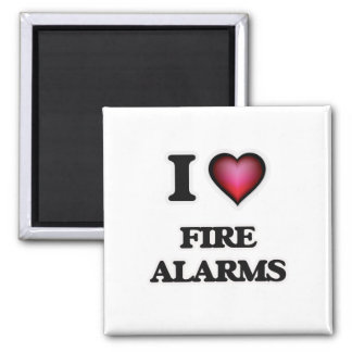 I love Fire Alarms Magnet