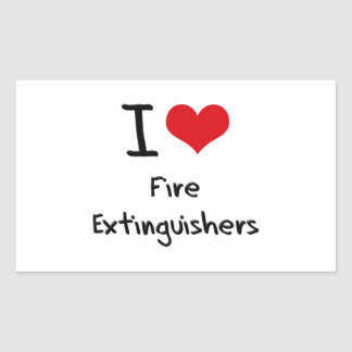 I Love Fire Extinguishers