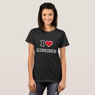 I Love Fire Trucks T-Shirt