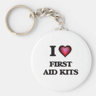 I love First Aid Kits Keychain