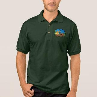 I Love Fishing polo shirt