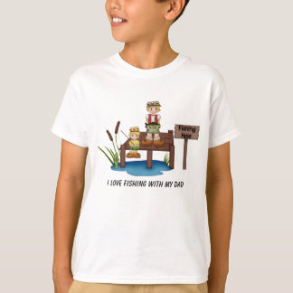 I Love Fishing With My Dad Shirt