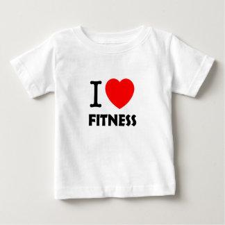 I Love Fitness Baby T-Shirt