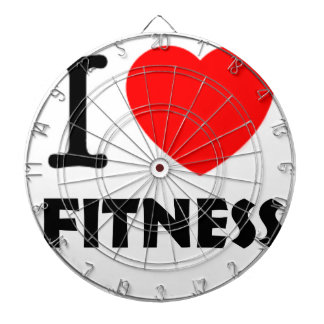 I Love Fitness Dartboard