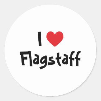 I Love Flagstaff Round Sticker