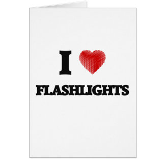 I love Flashlights Card