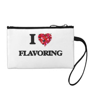 I Love Flavoring Coin Purse