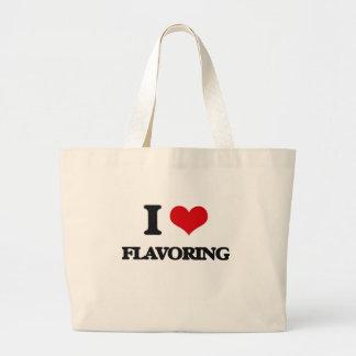 i LOVE fLAVORING Jumbo Tote Bag