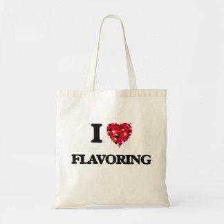 I Love Flavoring Budget Tote Bag