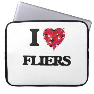 I Love Fliers Computer Sleeves