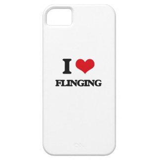i LOVE fLINGING iPhone 5 Covers