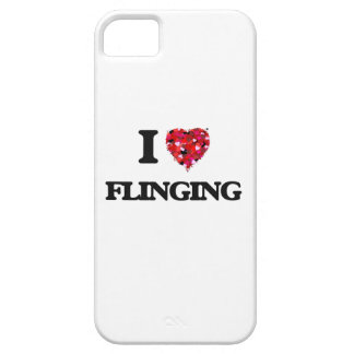 I Love Flinging iPhone 5 Case