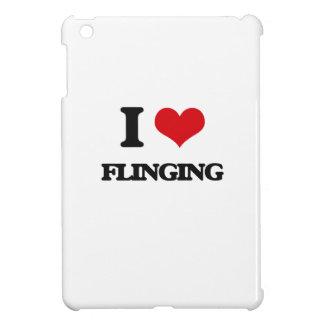 i LOVE fLINGING iPad Mini Covers