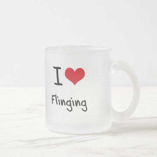 I Love Flinging Mug