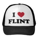 I love Flint Michigan Mesh Hats