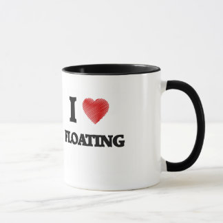 I love Floating Mug