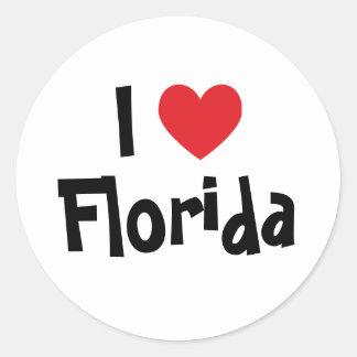 I Love Florida Stickers