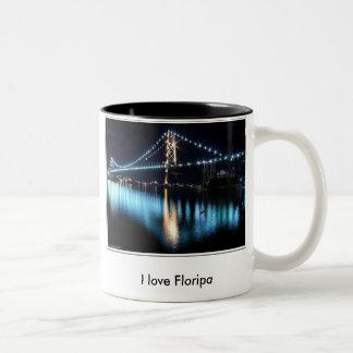 I love Floripa Two-Tone Coffee Mug