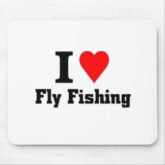 I love fly fishing mouse pad