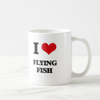 I Love Flying Fish Coffee Mug