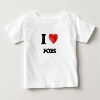 I love Foes Baby T-Shirt