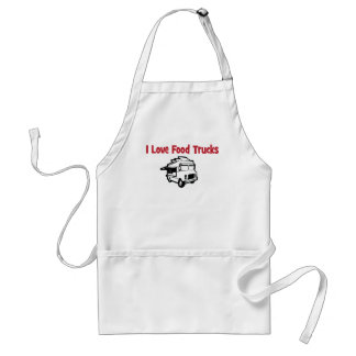 i love food trucks standard apron